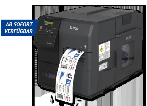 ColorWorks C7500 Etikettenfarbdrucker